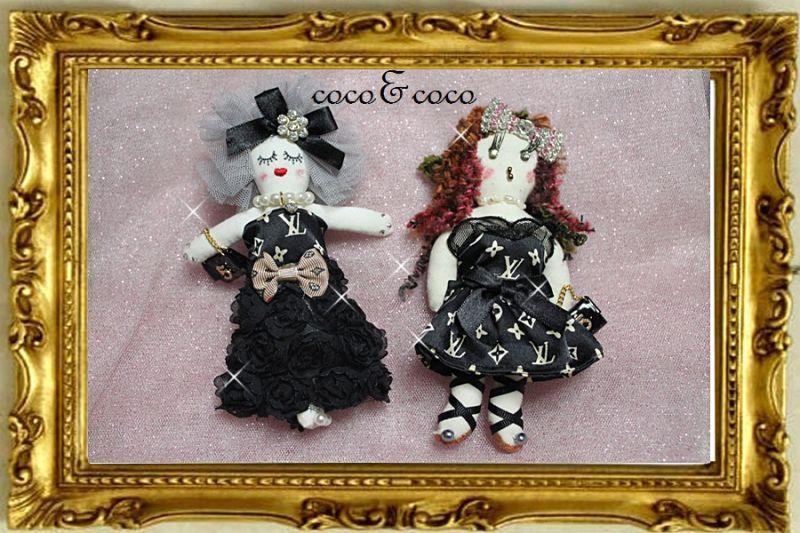 画像3: 【限定only one】coco&cocoオリジナル カスタマイズCOCO DOLL Bagチャーム
