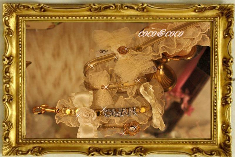 画像4: 【限定New】ホワイトチュールレースフリルnameリード Owanちゃんモデル