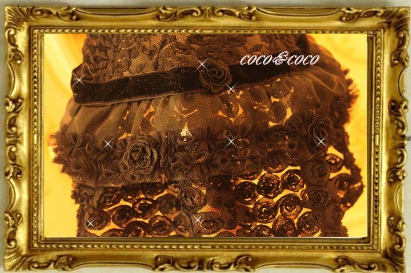 画像5: 【豪華新作】チュールレースROSE&ROSEドレスワンピース れんげちゃんモデル