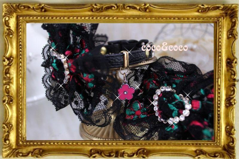 画像4: 【豪華新作】オーガンジーフラワー刺繍 ハートラインストーンバックルカラー