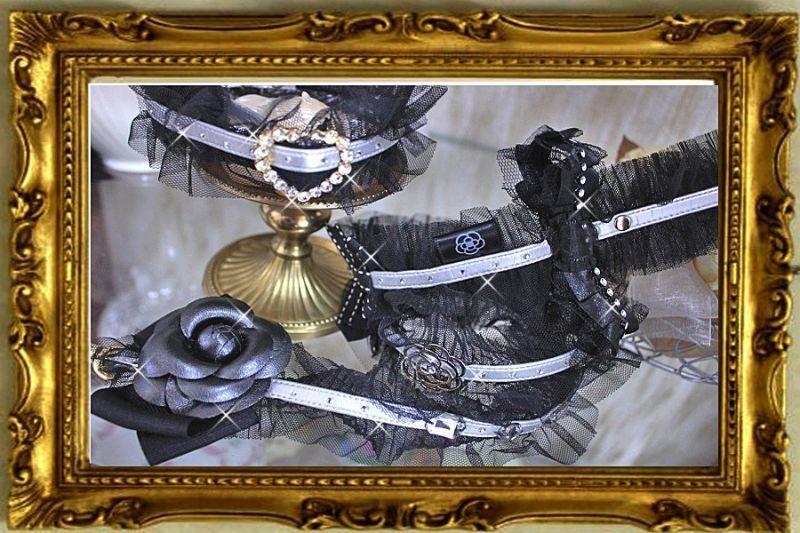 画像4: 【NEW】ハートラインストーンチュール ジュエリーカラー