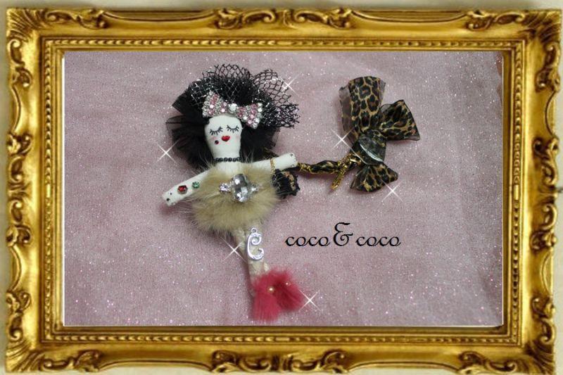 画像4: 【限定only one】coco&cocoオリジナル カスタマイズCOCO DOLL Bagチャーム